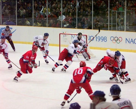 Nagano 1998 - Russia vs. Czech Republic